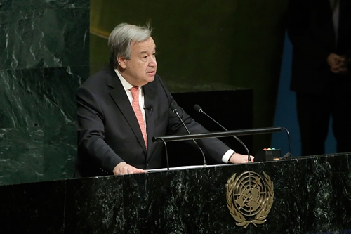 Tổng Thư ký LHQ Antonio Guterres tuyên thệ nhậm chức nhiệm kỳ hai