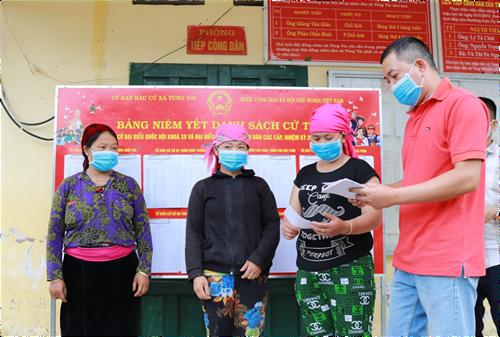 Hà Giang Tiếp tục truyên truyền chống lại thông tin xuyên tạc về bầu cử