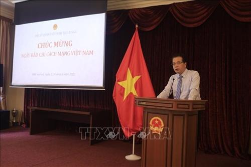 Đại sứ Việt Nam tại Nga chia sẻ khó khăn của phóng viên thường trú thời COVID-19
