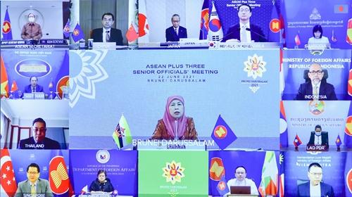 SOM ASEAN+3 ASEAN với các Đối tác Trung Quốc, Nhật Bản và Hàn Quốc