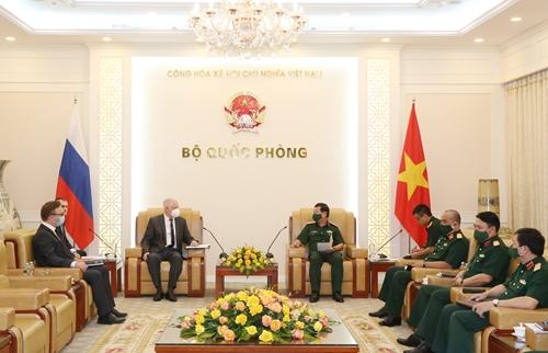 Việt Nam - Liên bang Nga tăng cường hợp tác kỹ thuật quân sự