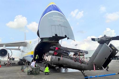 Philippines Rơi trực thăng quân sự, 6 người thiệt mạng