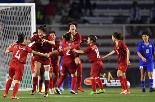 """Việt Nam gặp các đối thủ """"dễ thở"""" tại vòng loại Asian Cup nữ 2022"""