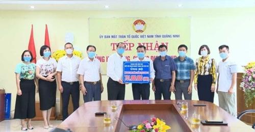 Quảng Ninh ủng hộ quỹ Phòng, chống dịch bệnh COVID-19 hơn 130 tỷ đồng