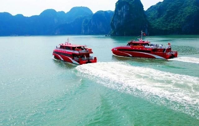 Quảng Ninh thêm tàu cao tốc 5 sao phục vụ du lịch tuyến đảo