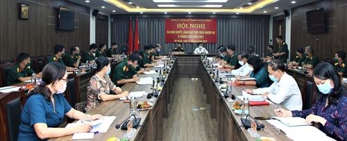 Triển khai toàn diện nhiệm vụ quân sự, quốc phòng địa phương