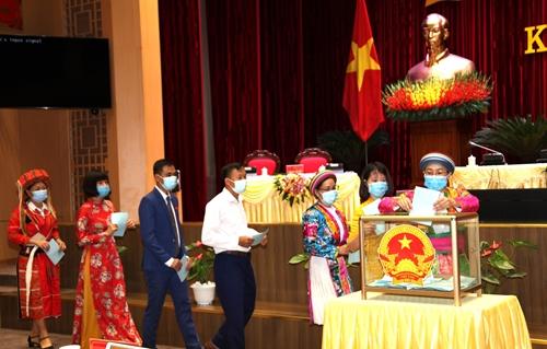 Đồng chí Thào Hồng Sơn tái đắc cử Chủ tịch HĐND tỉnh Hà Giang