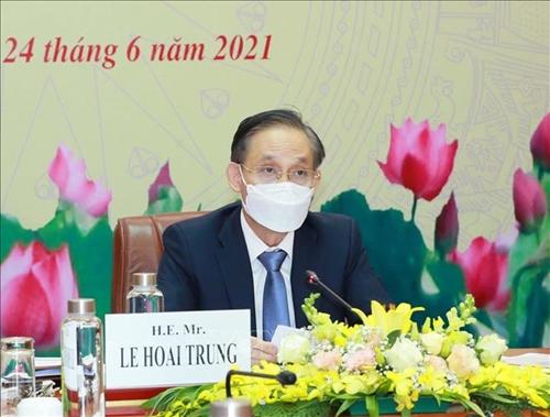 Thông báo kết quả Đại hội XIII của Đảng Cộng sản Việt Nam tới Đảng Cánh tả Đức