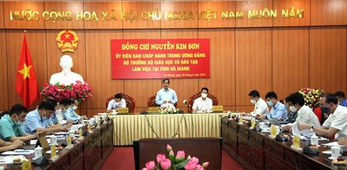 Hà Giang cần tổ chức kỳ thi tốt nghiệp THPT đảm bảo an toàn, nghiêm túc