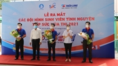 """TP Hồ Chí Minh Hơn 8 700 sinh viên tình nguyện """"Tiếp sức mùa thi"""""""