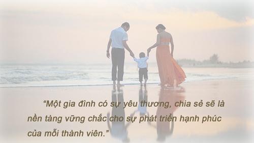 Tiêu chí nào đảm bảo để gia đình hạnh phúc