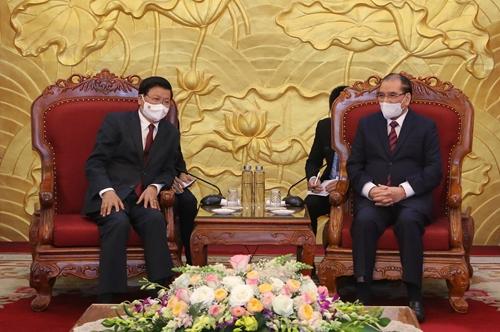 Tình cảm thủy chung, son sắt, nồng ấm và gắn bó keo sơn giữa hai dân tộc Việt - Lào