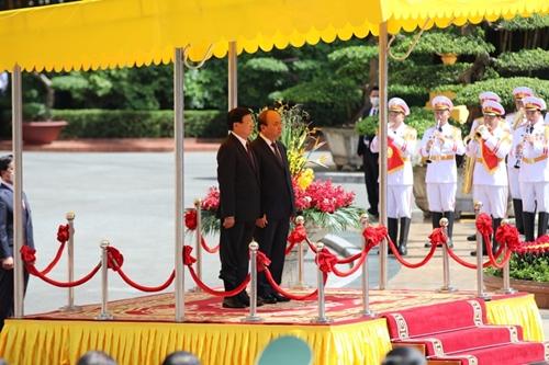 Việt Nam - Lào Thúc đẩy mạnh mẽ hơn nữa quan hệ giữa hai Đảng, hai nước phát triển đi vào chiều sâu, hiệu quả và thiết thực