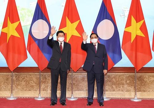 Tiếp tục phối hợp chặt chẽ triển khai hiệu quả các thoả thuận cấp cao Việt Nam - Lào