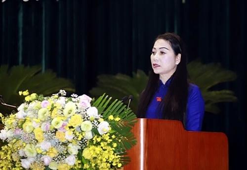 Bí thư Tỉnh ủy Vĩnh Phúc Hoàng Thị Thúy Lan tiếp tục được tín nhiệm bầu làm Chủ tịch HĐND tỉnh