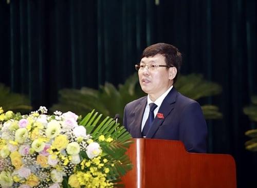 Đồng chí Lê Duy Thành tiếp tục được tín nhiệm bầu làm Chủ tịch UBND tỉnh Vĩnh Phúc