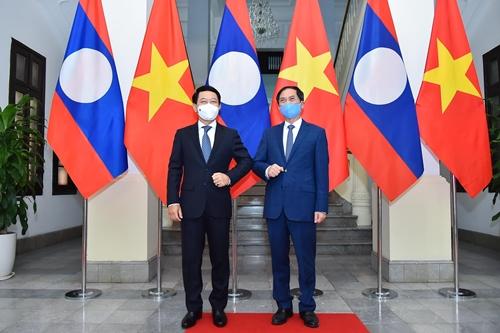 Tăng cường hợp tác giữa hai Bộ Ngoại giao Việt Nam và Lào