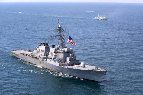 Mỹ, Ukraine khởi động tập trận ở Biển Đen, Nga phản đối