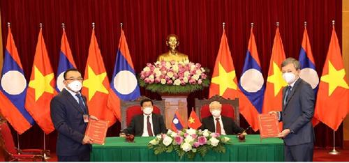 EVN Hợp tác song phương giữa Việt Nam - Lào trong lĩnh vực năng lượng