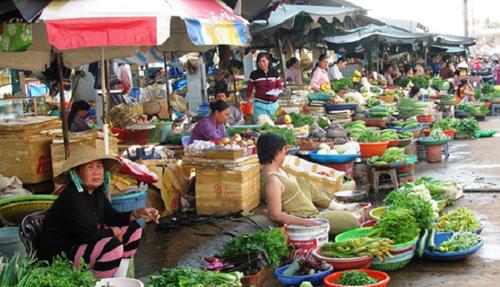 Kiểm soát chất lượng nông sản tại các chợ truyền thống