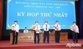 Tiền Giang có tân Chủ tịch Hội đồng nhân dân tỉnh