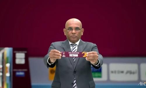 Tuyển Việt Nam cùng bảng với Nhật Bản, Trung Quốc tại vòng loại thứ 3 World Cup 2022