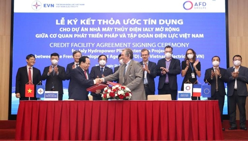 Pháp hỗ trợ 74,7 triệu Euro mở rộng Nhà máy thủy điện Ialy