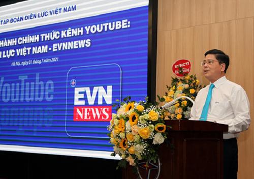 EVN chính thức ra mắt kênh Youtube Điện lực Việt Nam- EVNNews