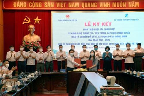 Thái Bình quyết tâm chuyển đổi số để trở thành Tỉnh phát triển trong khu vực