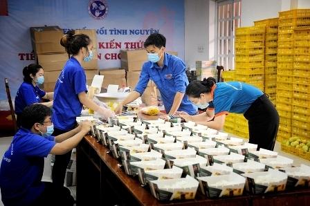 Bếp ăn nghĩa tình của tuổi trẻ TP Hồ Chí Minh