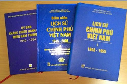 Thủ tướng làm Trưởng Ban Chỉ đạo bộ sách Lịch sử Chính phủ Việt Nam