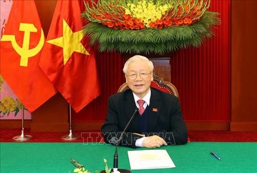 Tổng Bí thư dự Hội nghị giữa Đảng Cộng sản Trung Quốc với các chính đảng