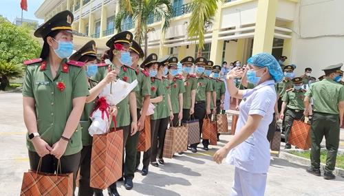 Bệnh viện 199 chi viện cho TP Hồ Chí Minh phòng chống dịch