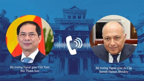 Đưa quan hệ hợp tác Việt Nam - Ai Cập đi vào chiều sâu