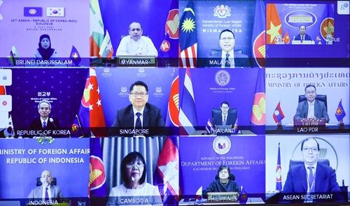 Đối thoại ASEAN - Hàn Quốc lần thứ 25 Nỗ lực giảm thiểu tác động kinh tế - xã hội