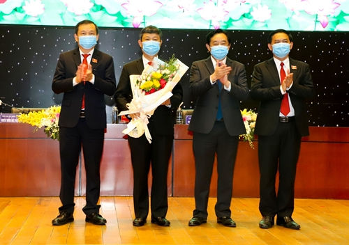 Đồng chí Võ Văn Minh được bầu giữ chức Chủ tịch UBND tỉnh Bình Dương