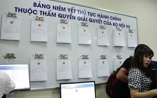 Bộ Nội vụ ban hành các quy trình ISO giải quyết thủ tục hành chính