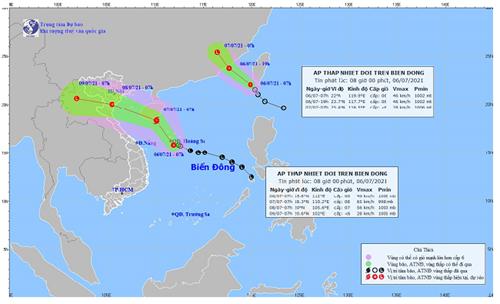 EVN Yêu cầu các đơn vị thành viên chủ động ứng phó trước nguy cơ bão đổ bộ