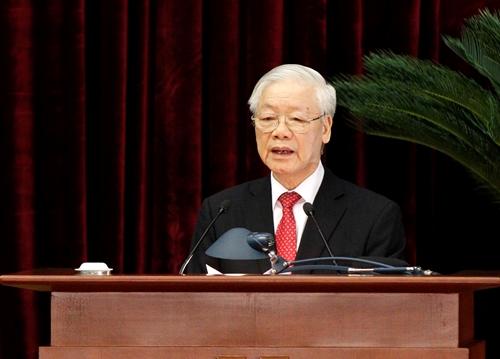 Lãnh đạo tổ chức thực hiện thật tốt Nghị quyết Đại hội XIII của Đảng và các nghị quyết của Trung ương