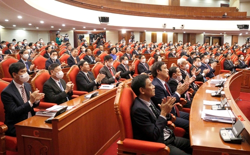 Phiên bế mạc của Hội nghị Trung ương 3, Ban Chấp hành Trung ương Đảng khoá XIII