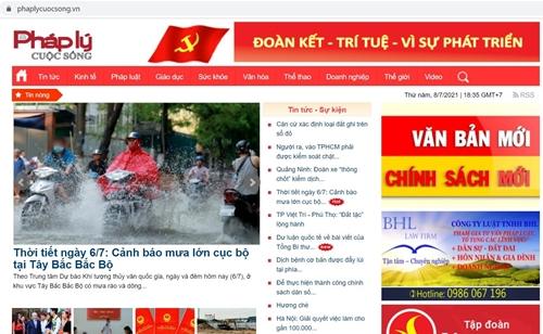 Công ty Cổ phần Truyền thông Pháp luật Việt Nam bị phạt 75 triệu đồng