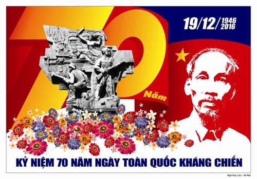 Thi sáng tác tranh cổ động tuyên truyền 75 năm Ngày Toàn quốc kháng chiến