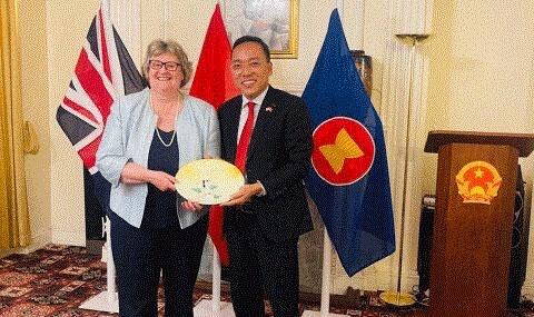 Thúc đẩy hợp tác song phương Việt Nam - Anh đi vào chiều sâu, hiệu quả