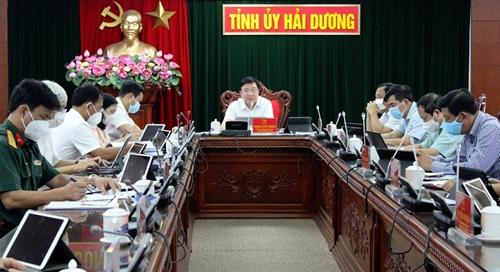 Hải Dương Xác định 5 nhiệm vụ, giải pháp trọng tâm thực hiện Nghị quyết Đại hội XIII