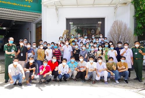 150 y, bác sĩ Bệnh viện Quân y 175 chi viện cho y tế TP Hồ Chí Minh