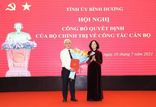 Đồng chí Nguyễn Văn Lợi giữ chức Bí thư Tỉnh ủy Bình Dương