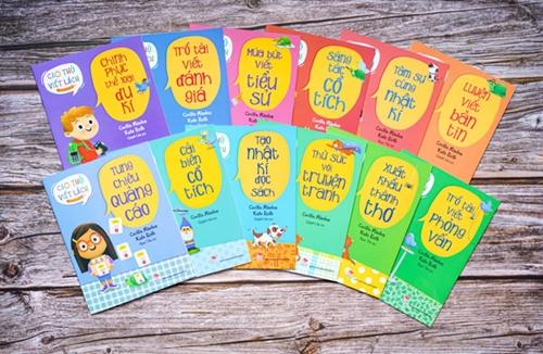 Bộ cẩm nang hướng dẫn viết lách cho học sinh tiểu học