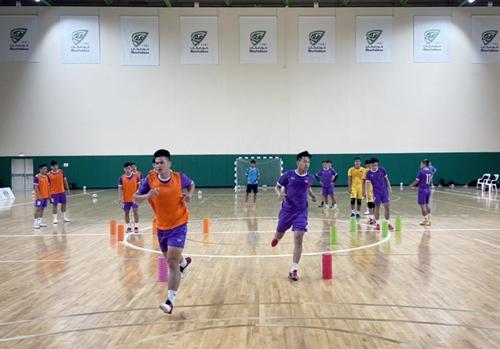 Điều chỉnh kế hoạch tập trung đội tuyển futsal Việt Nam