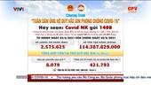 Chương trình Toàn dân ủng hộ quỹ vắc xin phòng chống Covid-19