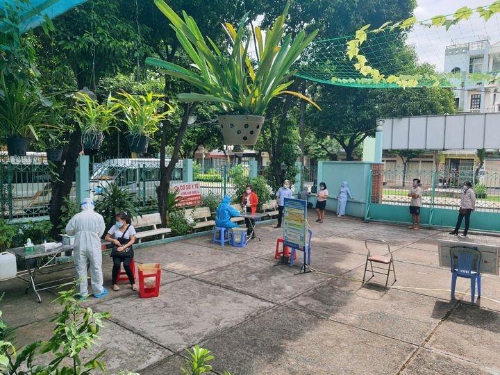 Sáng 12/7, TP Hồ Chí Minh ghi nhận 544 trường hợp nhiễm mới